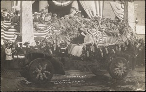 "Second prize, ""cotton carnival"", Fall River, June 19 to 24, 1911"