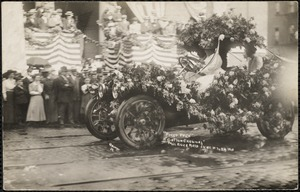 "First prize, ""cotton carnival"", Fall River, June 19 to 24, 1911"