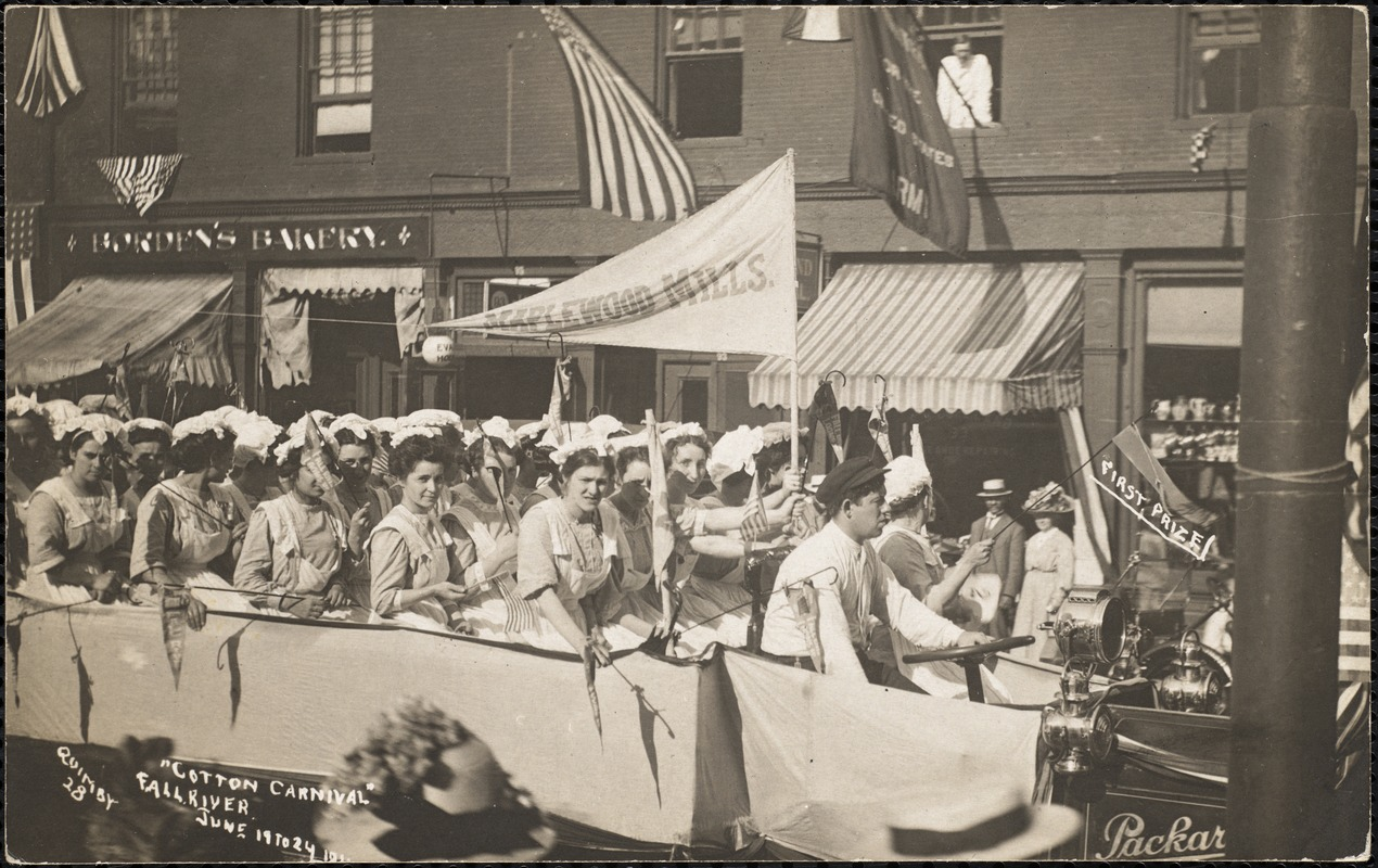 """""""Cotton carnival"""", Fall River, June 19 to 24, 1911"""