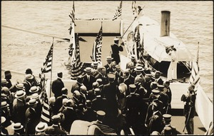 Pres. Taft at Cotton Centennial, 1911 Fall River, Sandy Beach