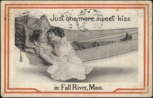 Just one more sweet kiss in Fall River, Mass.