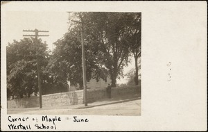 Corner of Maple and June, Westall School