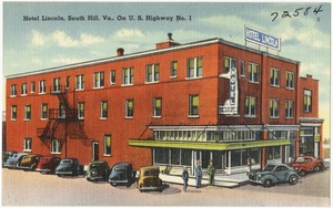 Hotel Lincoln, South Hill, Va., on U.S. Highway No. 1