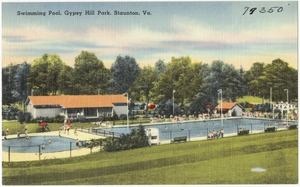 Swimming pool, Gypsy Hill Park, Staunton, Va.
