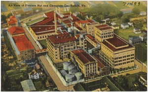 Air view of Planters Nut and Chocolate Co., Suffolk, Va.