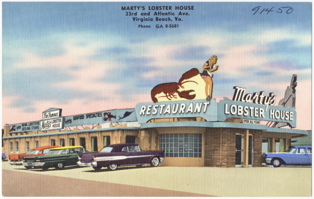Martyu0027s Lobster House, 33rd And Atlantic Ave., Virginia Beach, Va.