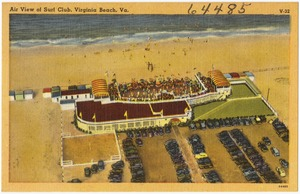 Air view of Surf Club, Virginia Beach, Va.