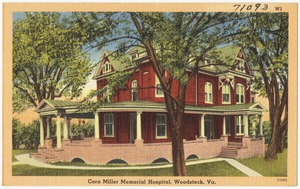 Cora Miller Memorial Hospital, Woodstock, Va.