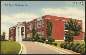 High school, Woodstock, Va.