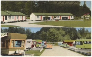 Crest Haven Motel and Trailer Park, 2400 Samish Highway on 99 south, Bellingham, Washington