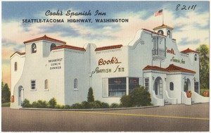 Cook's Spanish Inn, Seattle-Tacoma Highway, Washington