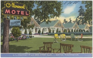 Claremont Motel, U.S. Highway 99 and 288th Street South... Seattle, Washington