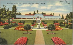 Municipal Greenhouse, Duncan Gardens, Spokane, Wash.