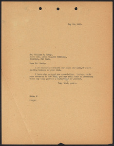 Herbert Brutus Ehrmann Papers, 1906-1970. Sacco-Vanzetti. Reports of detectives Roddy and Glass. Box 14, Folder 4, Harvard Law School Library, Historical & Special Collections