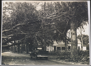 1944 Hurricane damage, 74 Old Main St., South Yarmouth, Mass.