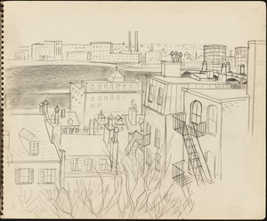 Sketch of Cambridge and Boston