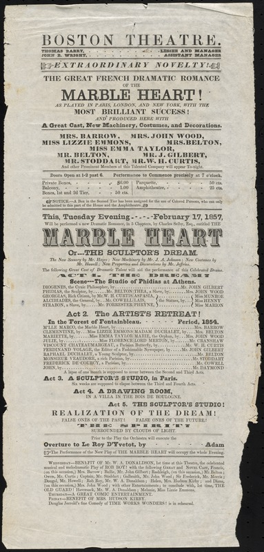 The Marble Heart