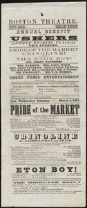Pride of the Market ; Crinoline ; Eton Boy