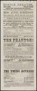 The Phantom ; The Young Actress