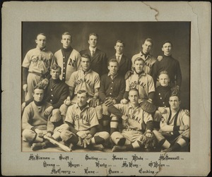Bridgewater State Normal School baseball team, 1911