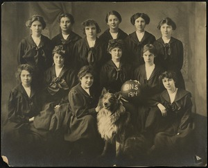 Bridgewater State Normal School women's basketball team, 1914