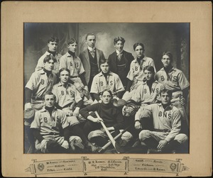 Bridgewater State Normal School baseball team, 1900