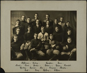 Bridgewater State Normal School football team, 1909