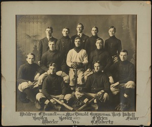 Bridgewater State Normal School baseball team, 1906