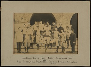 Bridgewater State Normal School football team, 1892