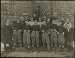 Bridgewater State Normal School football team, 1922