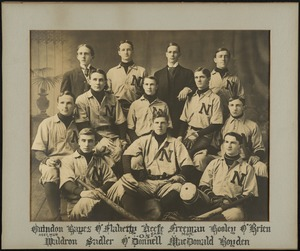 Bridgewater State Normal School baseball team, 1905