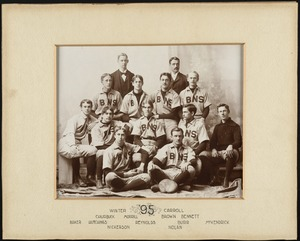 Bridgewater State Normal School baseball team, 1895