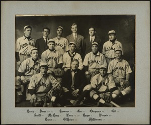 Bridgewater State Normal School baseball team, 1910