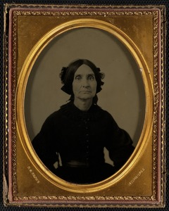 Portrait of Lowell Mason's wife, Abigail