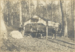 Capt. Tucker's old cook house, Ponkapoag Pond
