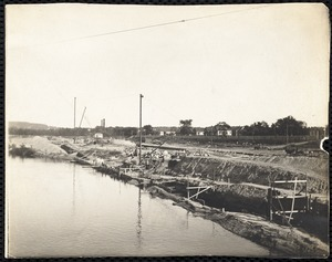 Wood Mill construction, c 1906