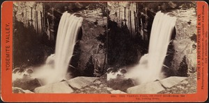 The Vernal Fall, 350 feet high -- from the top, looking down