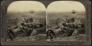"""Down in a shell crater we fought"" - Battle of Cambrai"