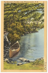 The canoeist's paradise, Lake Winnipesaukee, N.H.