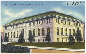 Carpenter Memorial Library, Manchester, N.H.