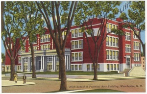 High School and Practical Arts Building, Manchester, N.H.