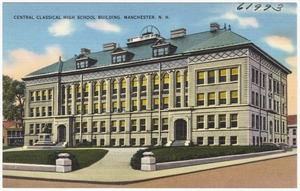 Central Classical High School Building, Manchester, N.H.
