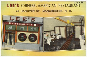 Lee's Chinese-American Restaurant, 42 Hanover St., Manchester, N.H.