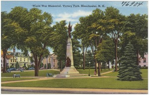World War Memorial, Victory Park, Manchester, N.H.