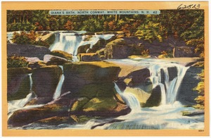Diana's Bath, North Conway, White Mountains, N.H.