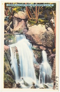 Paradise Falls, Lost River, White Mountains, N.H.