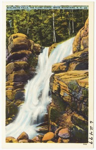 Avalanche Falls, the Flume Gorge, White Mountains, N.H.