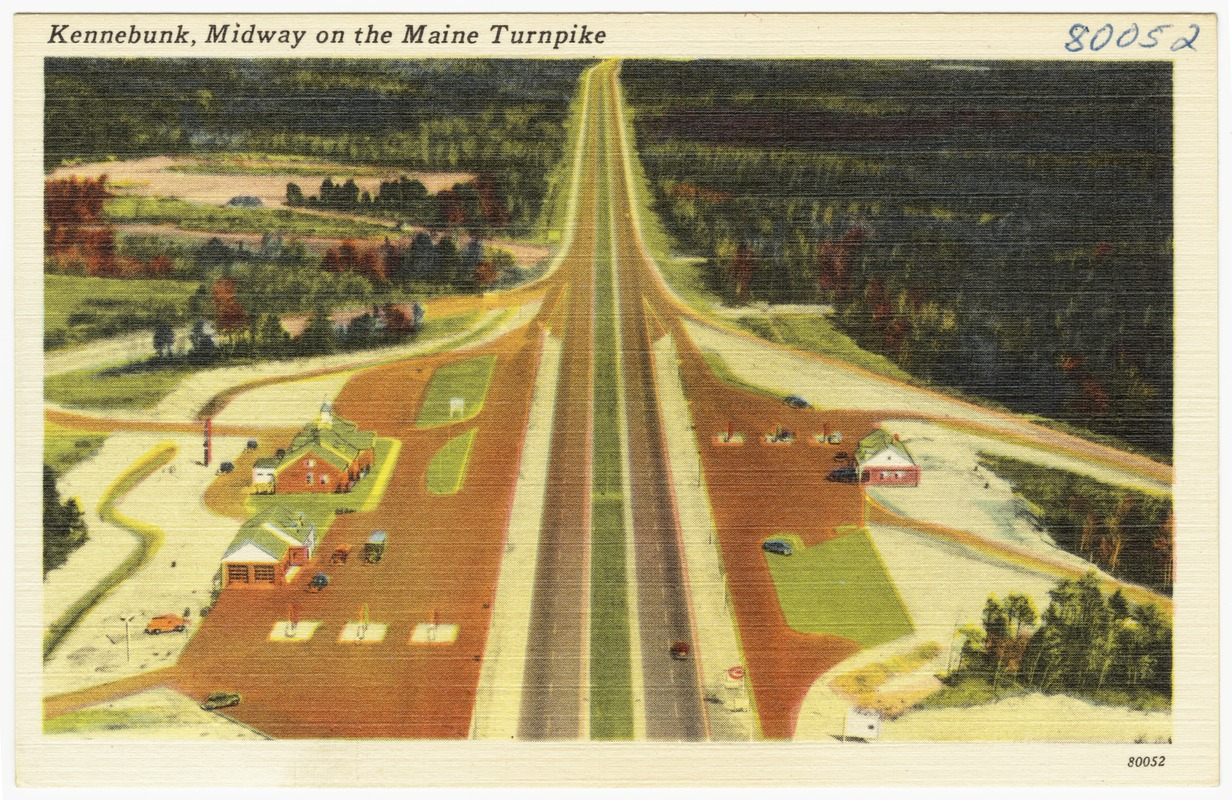 Kennebunk, midway on the Maine Turnpike - Digital Commonwealth