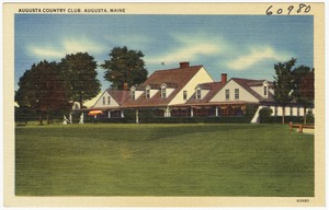 Augusta Country Club, Augusta, Maine