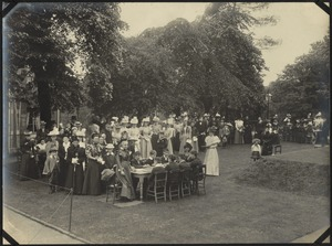 Garden Party, The Royal Normal College for the Blind, England